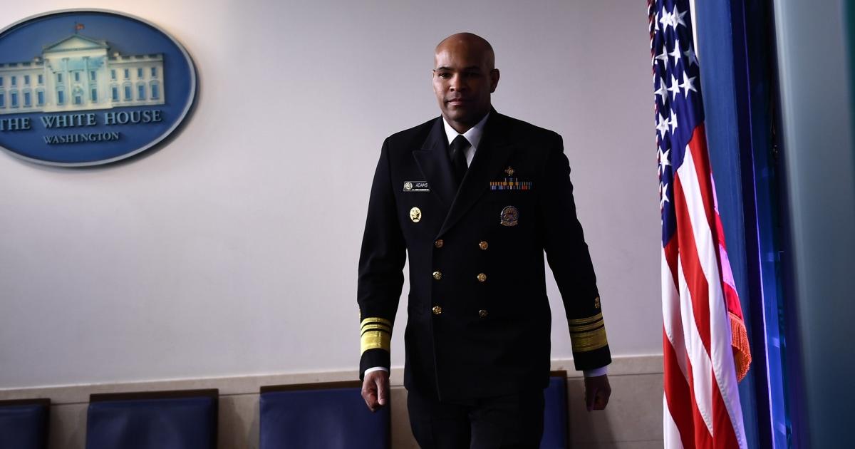 Dokter bedah Umum mengatakan minggu ini akan menjadi 'Pearl Harbor saat' untuk coronavirus krisis