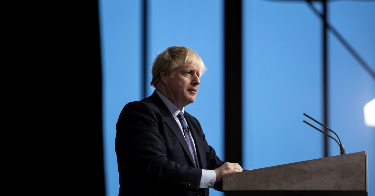 U.K. Prime Minister Boris Johnson out of intensive care