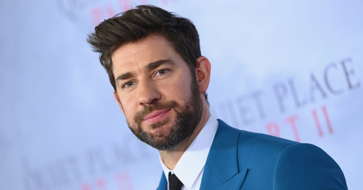 John Krasinski reunites original 'Hamilton' cast to perform for 9-year-old fan