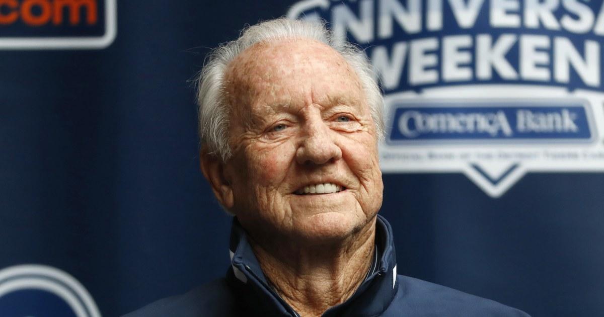 Al Kaline, baseball Hall of Fame Mitglieds bekannt als 'Mr. Tiger,