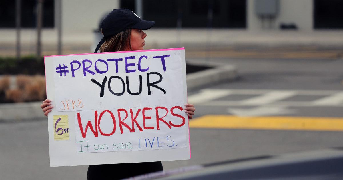Coronavirus mengungkapkan kebenaran tentang Amerika 'penting' pekerja sistem kasta