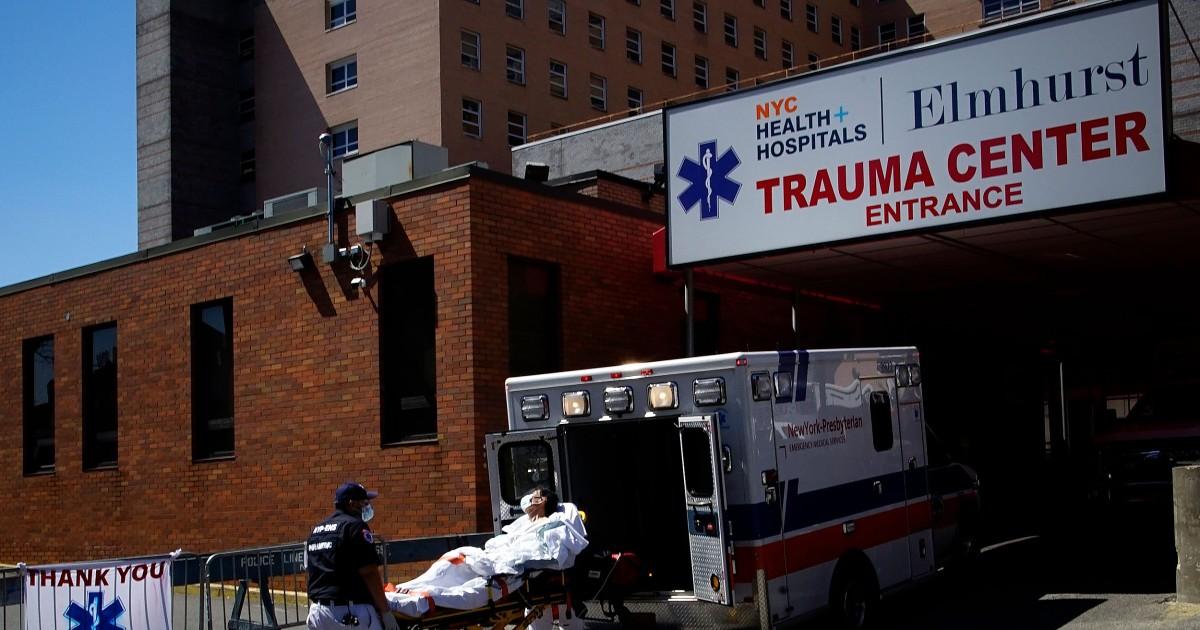 'Jantung panggilan' 911 di New York City surge, dan mereka mungkin benar-benar menjadi lebih COVID kasus