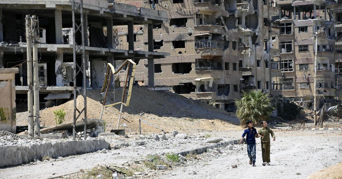 Assads Luftwaffe attackiert syrischen Zivilisten mit sarin, Chlor, sagt watchdog