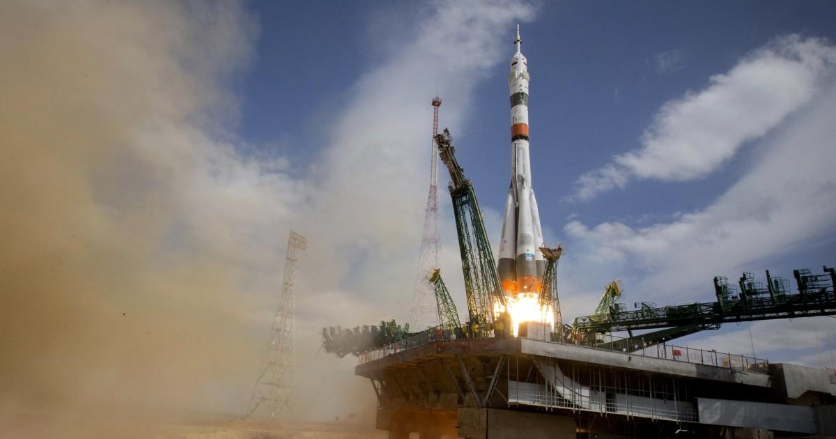 米国-ロシアのクルー麻オフのための国際宇宙ステーション