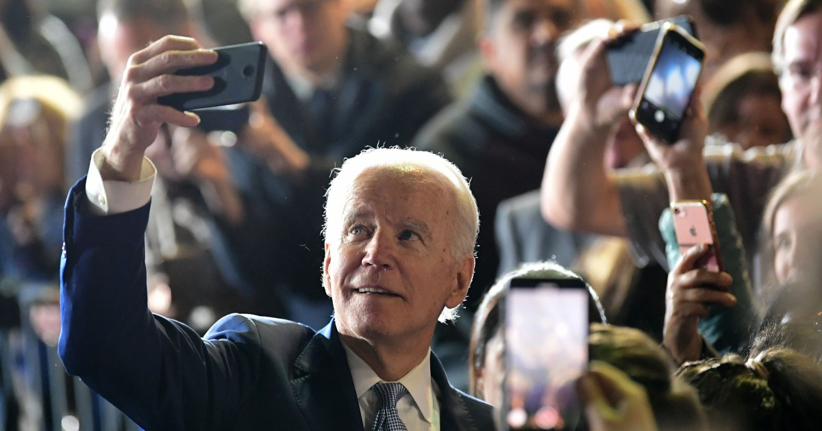 Younger voters warm up to Biden in new poll thumbnail