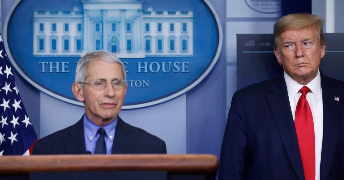 White House attacks on Fauci described as 'nuclear grade bananas'