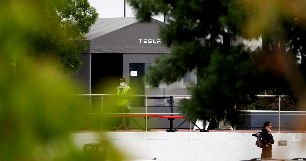 Some Tesla factory employees say they're being pressured to return to work