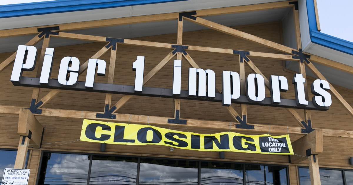 Pier 1 Imports to wind down its business after not finding a buyer
