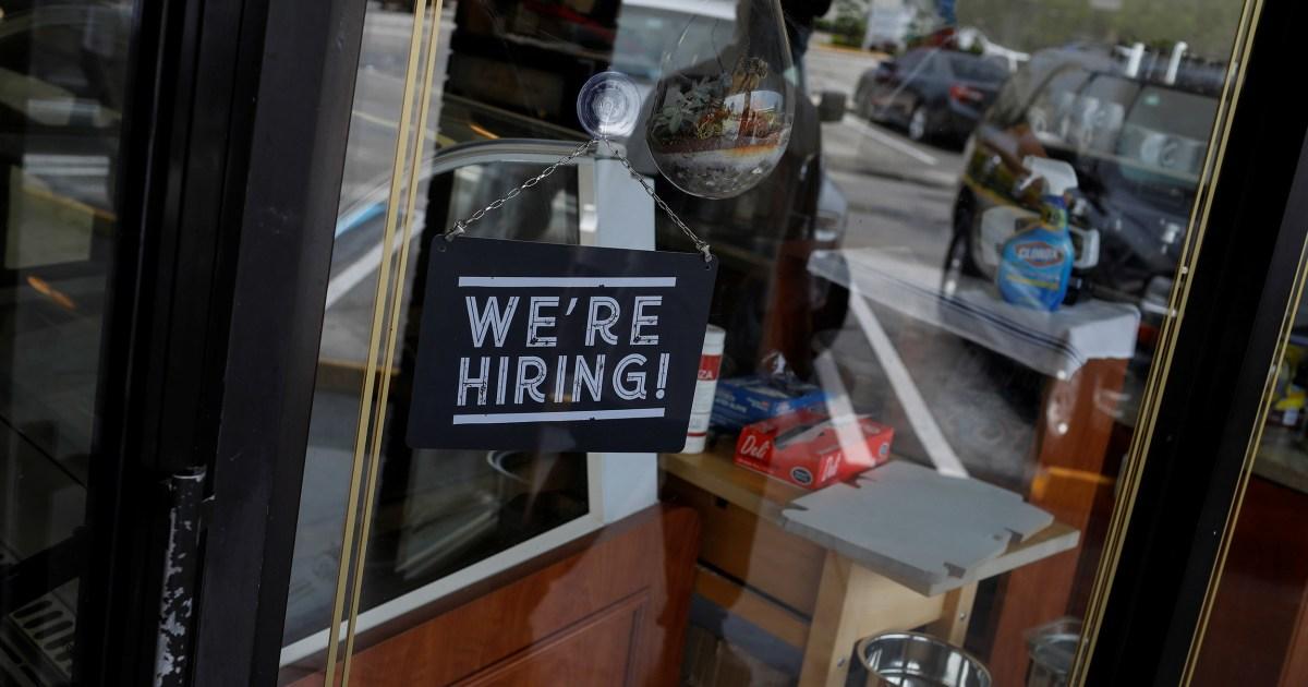 Unemployment rate falls to 13.3 percent as economy gains surprise 2.5 million jobs despite coronavirus