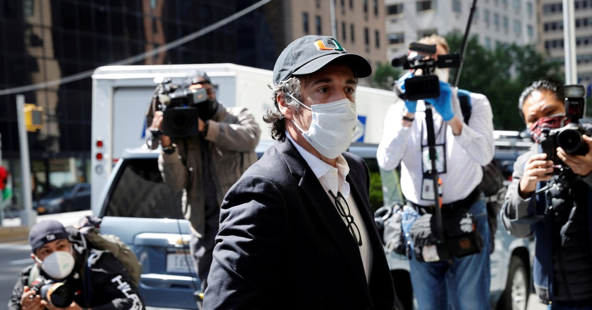 ACLU law firm sue to get Michael Cohen released saying he was sent back to prison over book – NBC News
