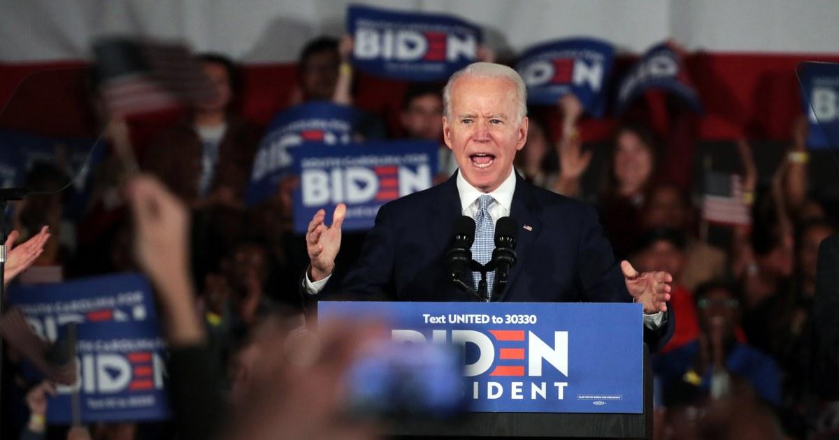 Biden wins Democratic primary in Hawaii