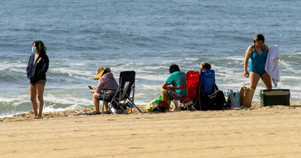 Photo of COVID-19 puts damper on Memorial Day beach reopenings | NBC News