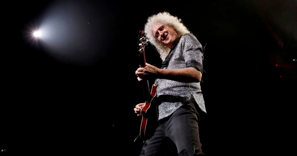 Photo of Queen guitarist Brian May survives heart attack, is now 'ready to rock' | NBC News