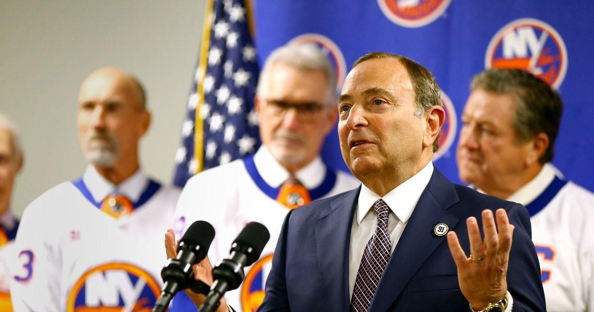 NHL announces plans for resumption of season
