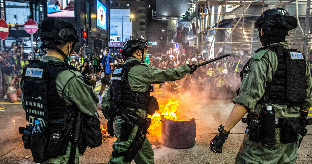 Hong Kong no longer has autonomy under China, Pompeo says