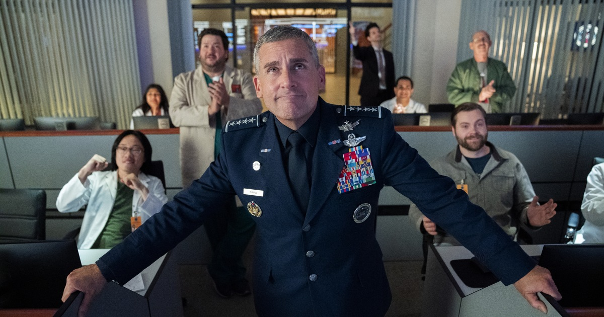 Netflix's 'Space Force' bombs amid Trump's very real (and very unfunny) reality