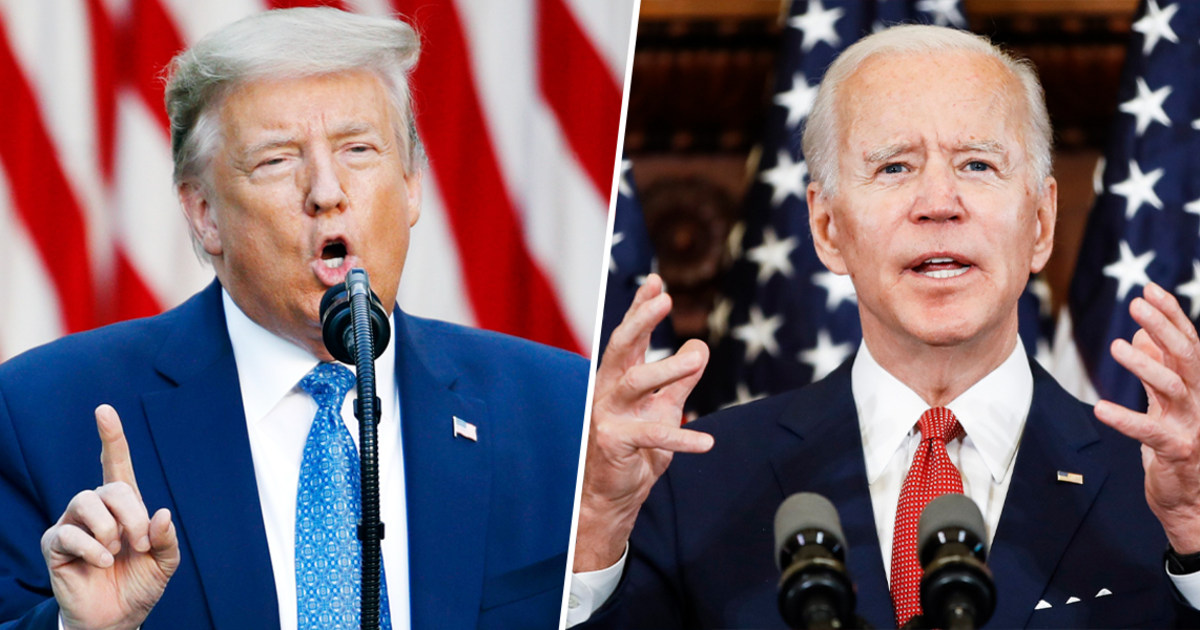 Difficult to attack vanilla': Trump's throwing everything at Biden, but  nothing is sticking