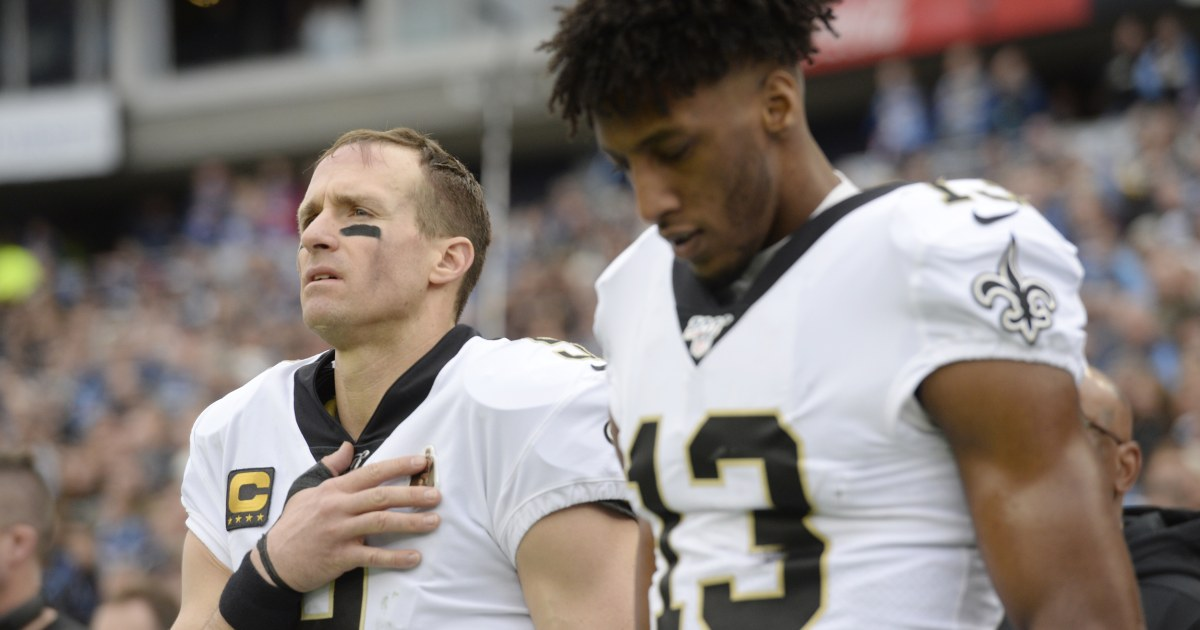 Drew Brees apologizes for criticizing NFL players protesting for the length of nationwide anthem - NBC News thumbnail