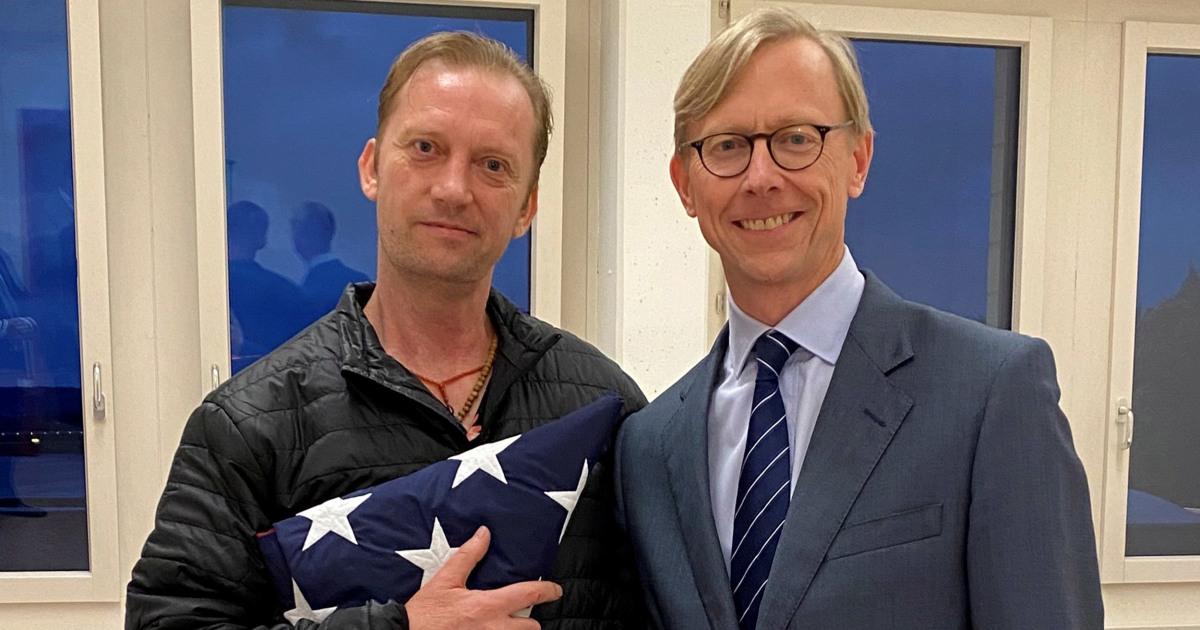 U.S. Navy veteran released from Iran thanks Trump