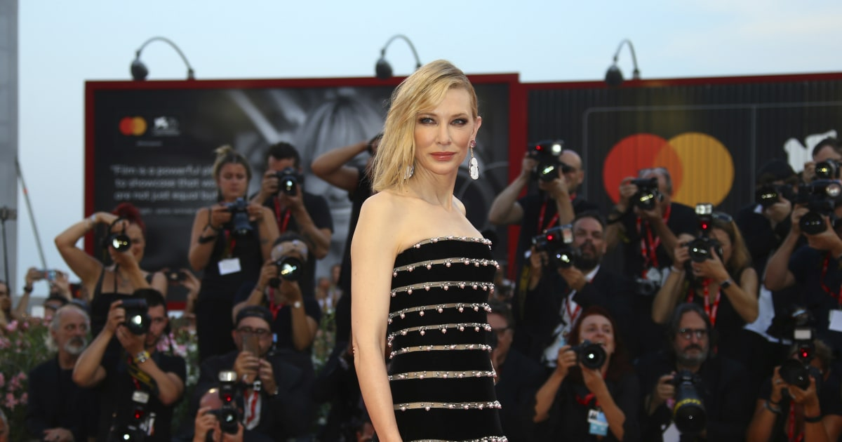 Cate Blanchett says she suffered 'chainsaw accident' to the neck but is OK