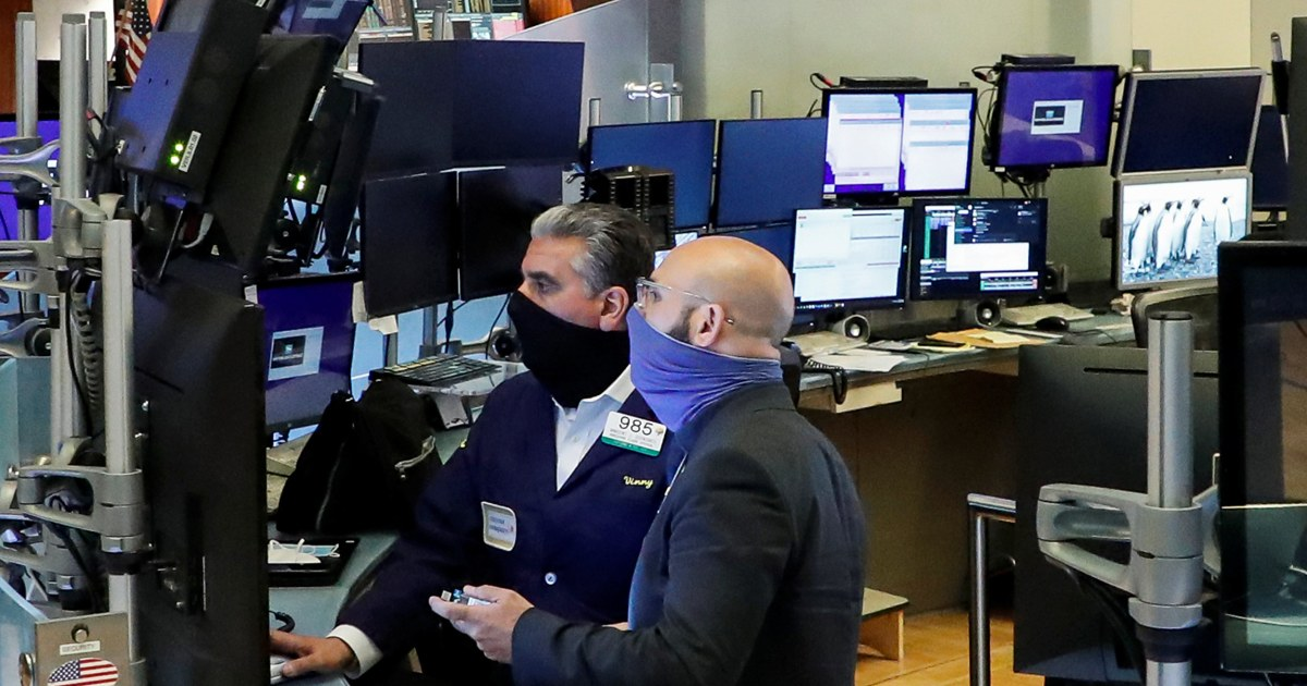 Dow closes with gain of 829 points after blowout jobs report