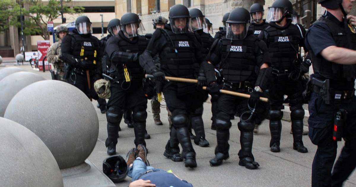 75-year-old protester shoved to ground by police in Buffalo files lawsuit