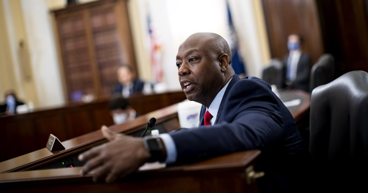 Sen. Tim Scott says a 'path forward' on police reform in Congress can be found thumbnail