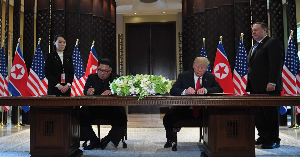 North Korea dismisses chance of `face to face`...