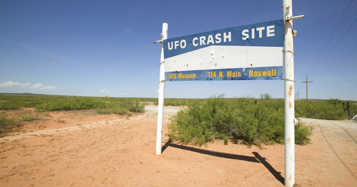 Alien Roswell Foo Fighters UFO Paperclip
