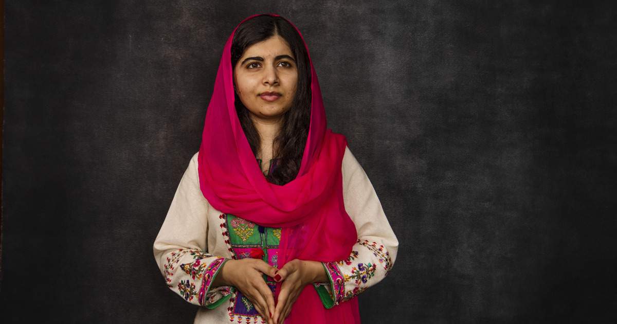 Militants shot her because she went school. Today Malala graduated from college.