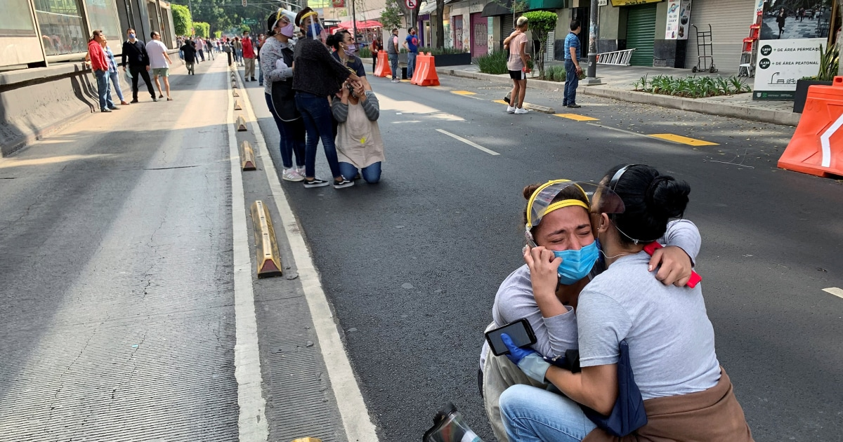 Powerful 7.4-magnitude earthquake rocks Mexico; at least six people dead