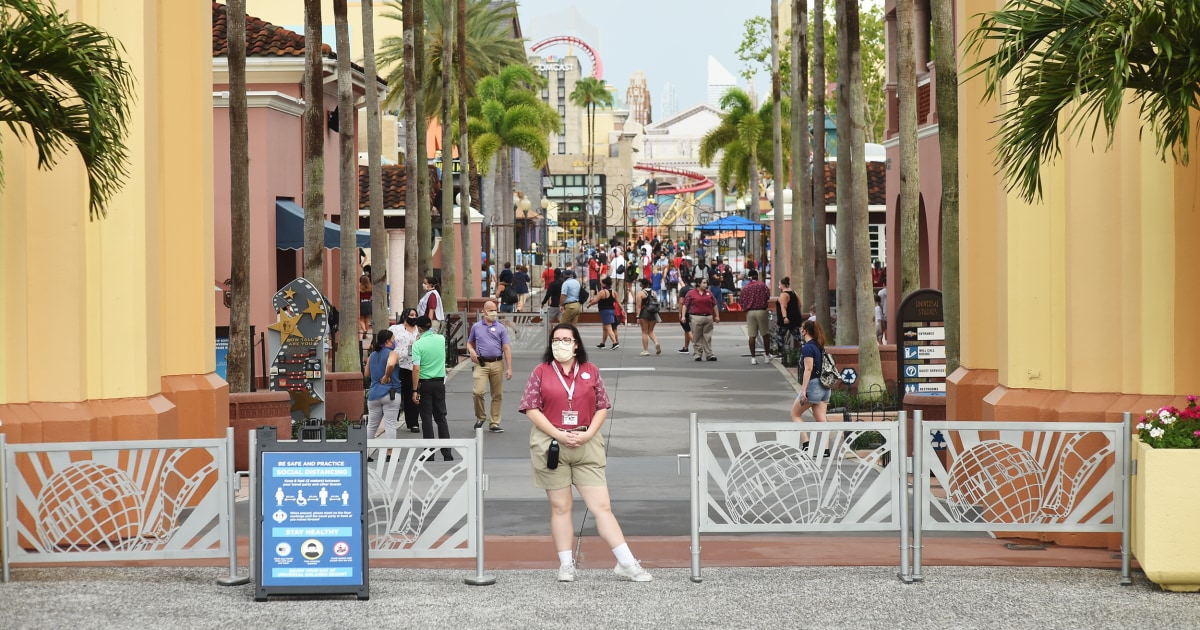 Universal Orlando laying off workers just two weeks after reopening