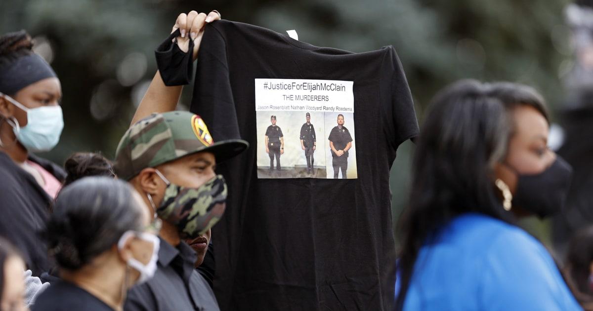 Thousands collect close to Denver to demand justice for Elijah McClain - NBC News thumbnail