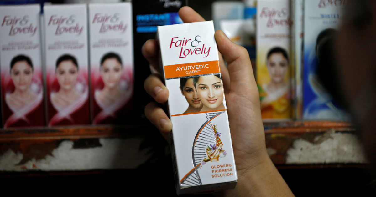 www.nbcnews.com: Skin lightening cream 'Fair & Lovely' to change name after backlash