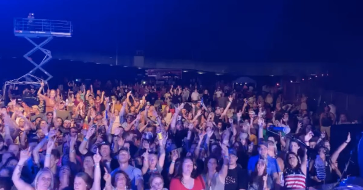 Country stars Chase Rice, Chris Janson spark outrage with videos of packed concerts