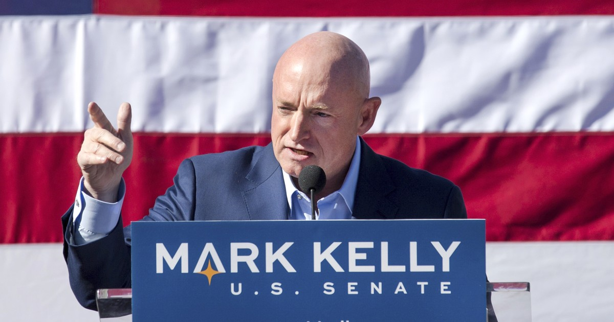A Mark Kelly win in Ariz. Senate race could spoil McConnell's plans to replace Ginsburg
