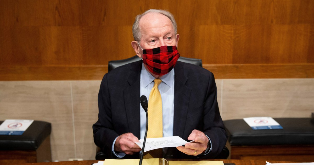 Senate Republicans distance themselves from Trump on coronavirus...