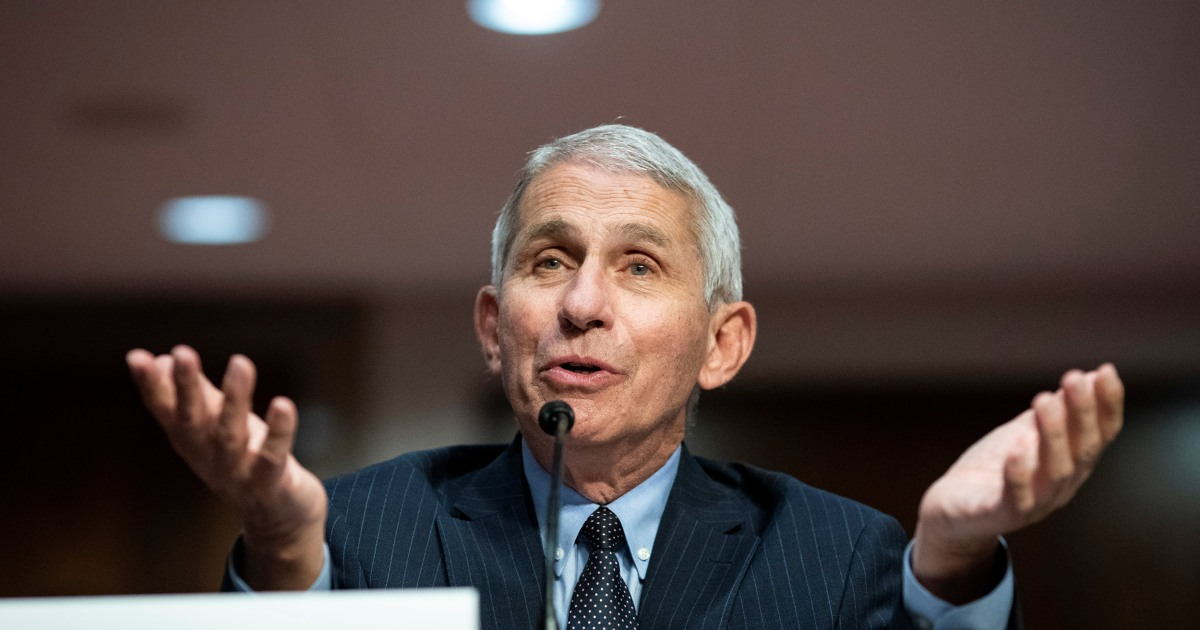 The White House campaign against Anthony Fauci takes a bizarre turn