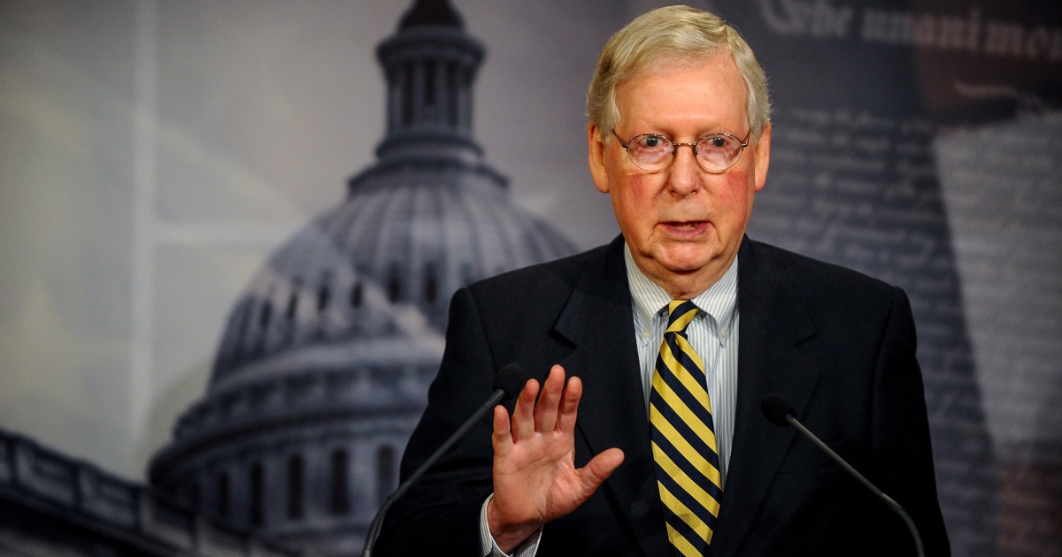 Ignoring irony, McConnell warns Dems may 'vandalize' the Senate