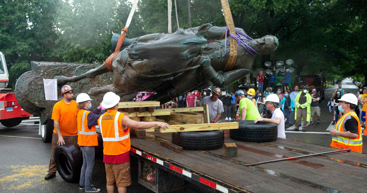 These Confederate statues were removed. But where did they go?