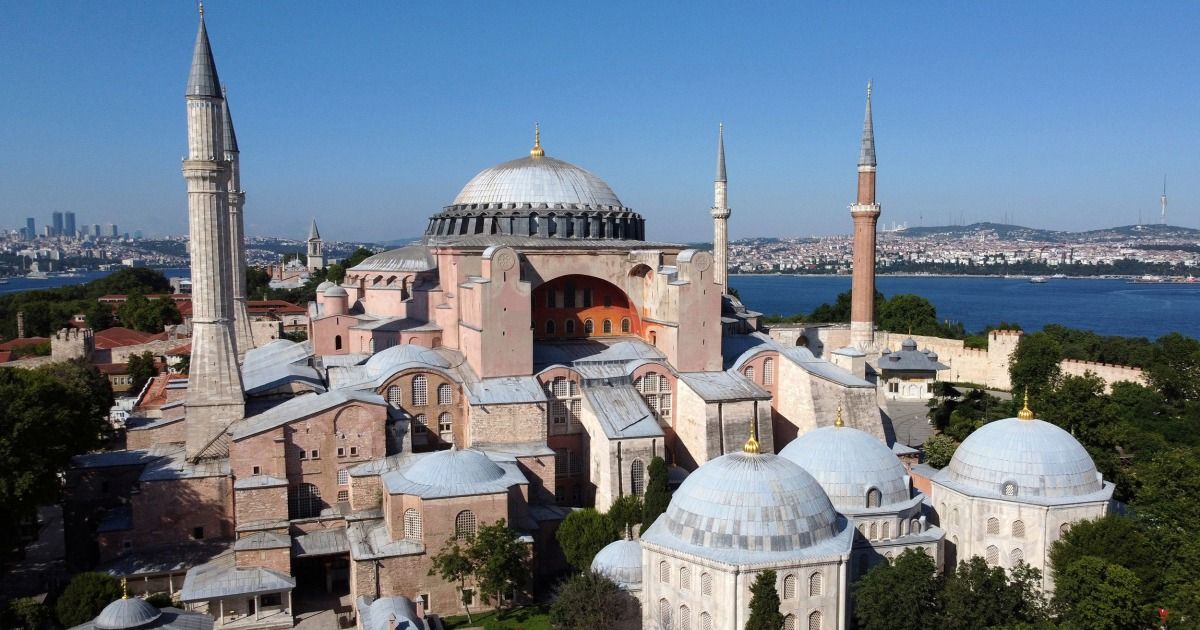 Battle over whether Turkey's Hagia Sophia should be a mosque or museum goes to court - NBC News