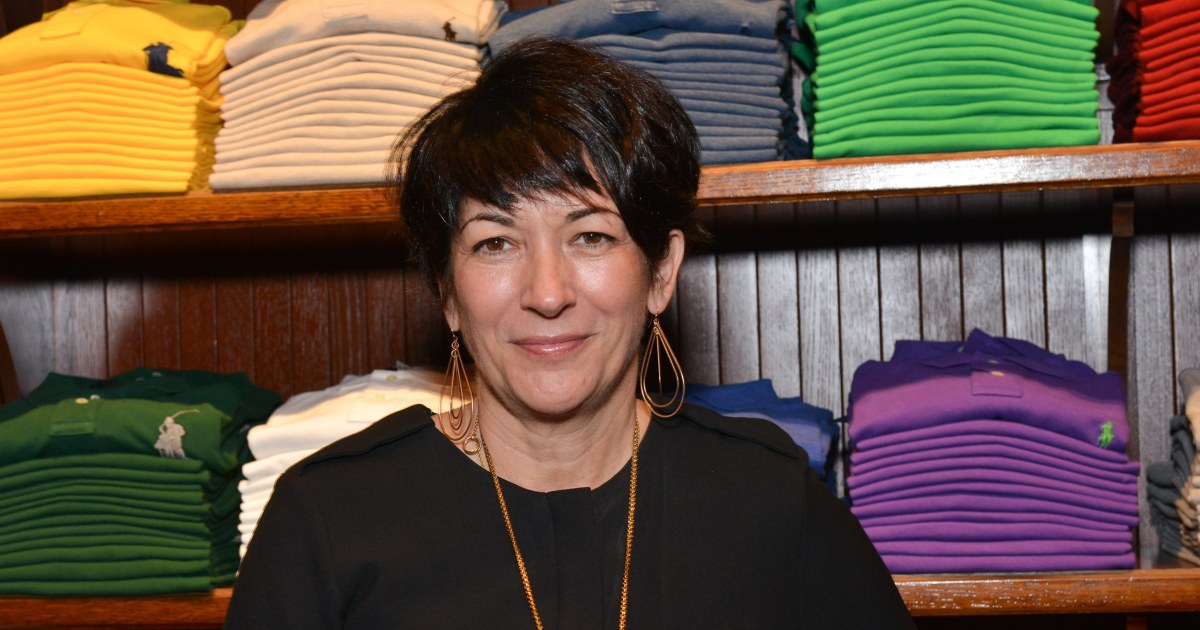 Ghislaine Maxwell complains about 'uniquely onerous' conditions behind bars – NBC News