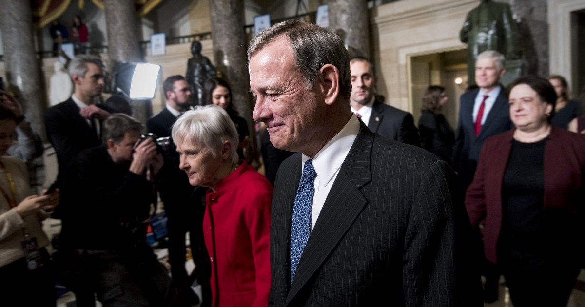 More than ever, this is John Roberts` Supreme...