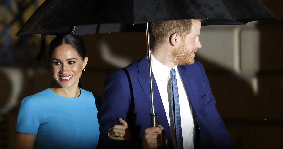Prince Harry and Meghan 'did not contribute' to new book about their time in royal family – NBC News