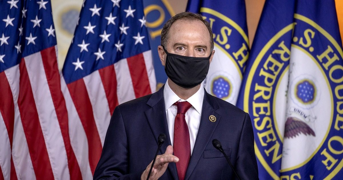 Schiff calls for inquiry after report that Trump DOJ targeted Democrats in Congress