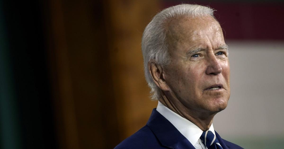www.nbcnews.com: Biden says Trump is first racist U.S. president