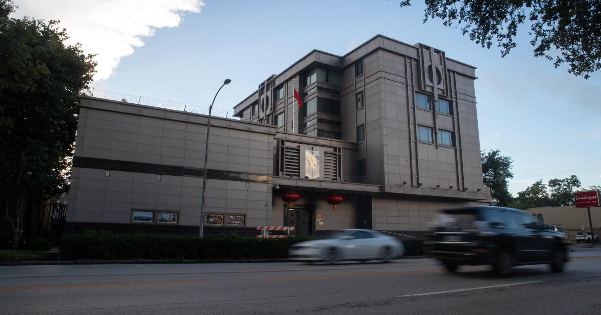 China threatens retaliation after U.S. orders closure of consulate