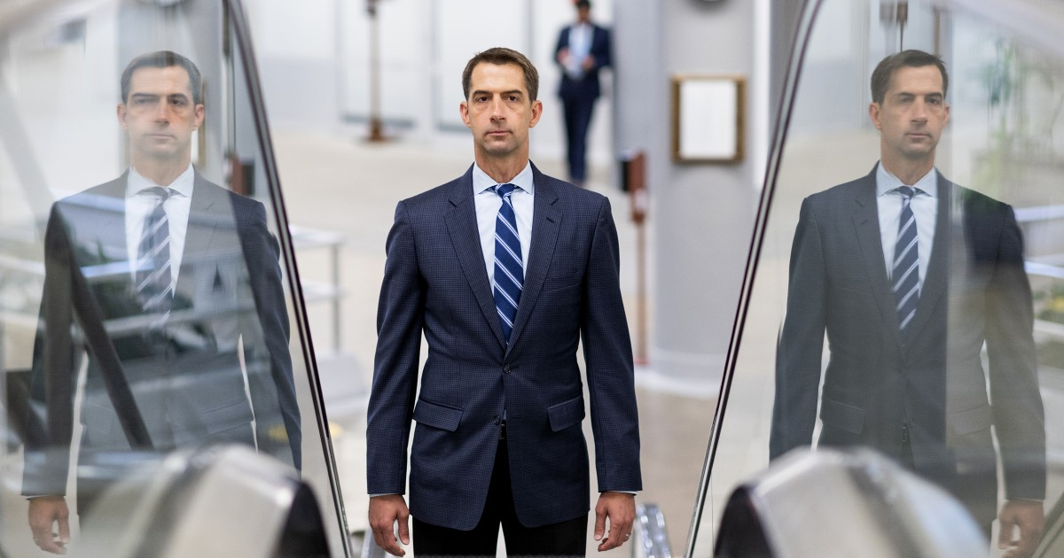 Tom Cotton under fire for comments on slavery