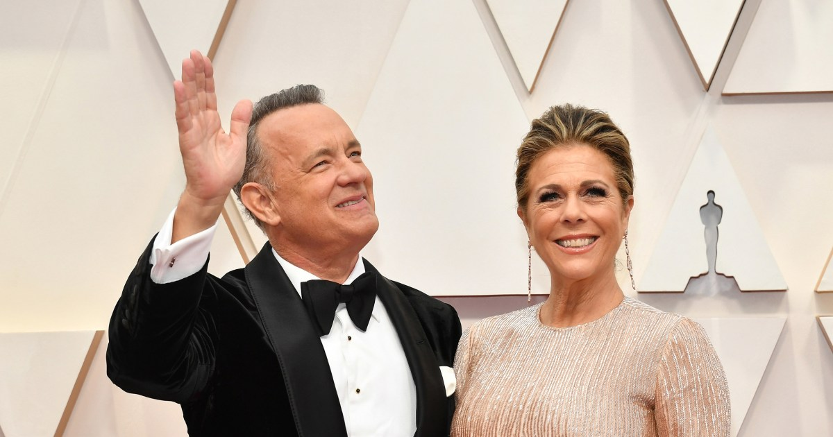 Tom Hanks and Rita Wilson officially become citizens of Greece