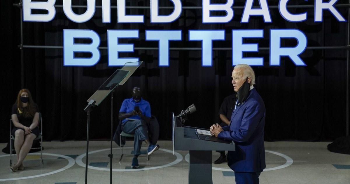 'A classic do no harm strategy': Biden's campaign enters key stretch